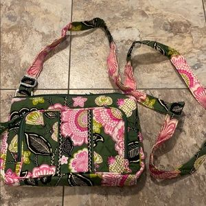 Vera Bradley Crossbody Purse OliviaPink Collection